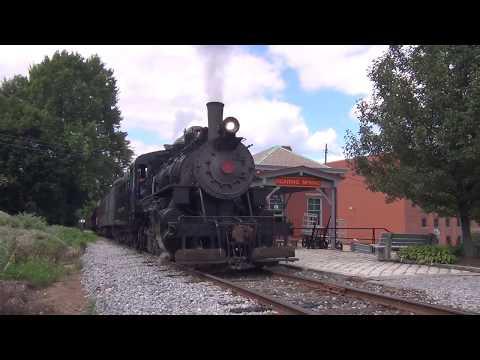 Everett Railroad:  Summer Steam and Ice Cream