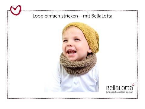 Loopschal einfach stricken – mit BellaLotta