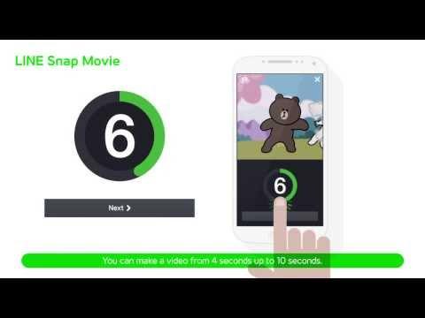 Video of LINE SnapMovie
