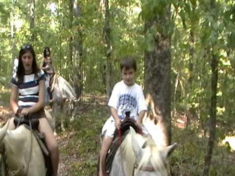 Kinney Family Horse Riding.MOD