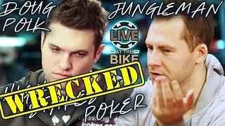 Video Doug Polk WRECKED in High Stakes Poker Game ♠ Live at the Bike! MP3, 3GP, MP4, WEBM, AVI, FLV Januari 2019