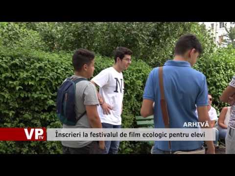 Înscrieri la festivalul de film ecologic pentru elevi