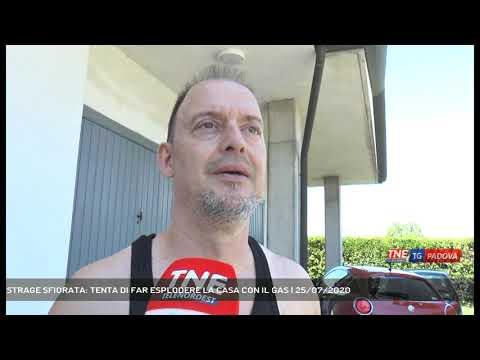 STRAGE SFIORATA: TENTA DI FAR ESPLODERE LA CASA CON IL GAS | 25/07/2020