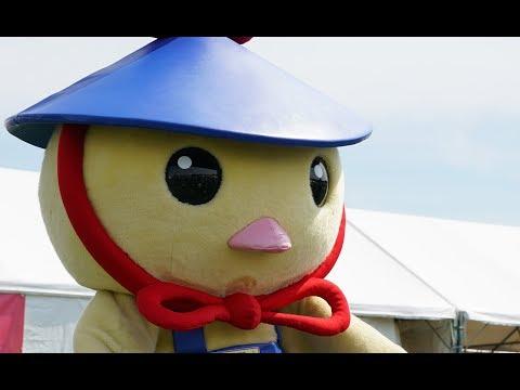 【ゆるキャラ】愛知県日進市「にわさきくん」、ハハノワにて