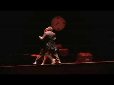 Танго. Выступление на открытии фестиваля, 2008 год.