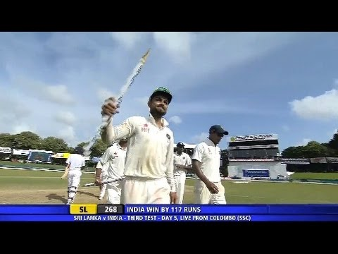 Kusal Perera 70 vs India, 3rd Test, SSC, 2015