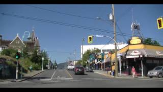 Nanaimo (BC) Canada  city pictures gallery : Driving in Nanaimo BC Canada - Drive on Vancouver Island British Columbia 2016 Tour Visit