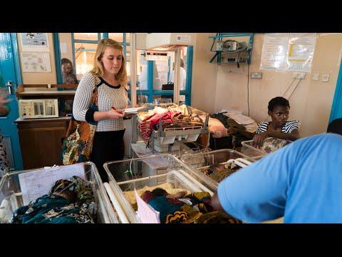 Caroline in Africa