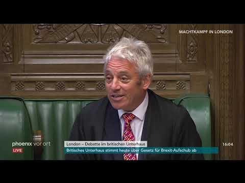 Brexit: Debatte im britischen Unterhaus (1) am 04.09. ...