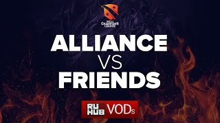 Alliance vs F.R.I.E.N.D.S., game 1