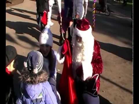 Новогодние праздники в Детском парке