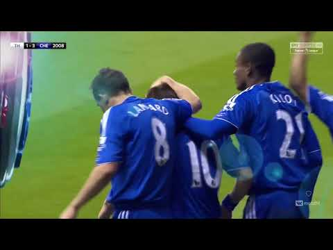 Tottenham 4-4 Chelsea | Goals and Highlights English commentator | EPL 2007/2008