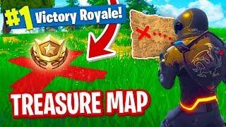Secret TREASURE MAP in Fortnite!