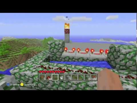 How to make a TNT Cannon on Minecraft Xbox 360 Edition