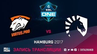 Virtus.Pro vs Liquid, ESL One Hamburg, game 2 [GodHunt, v1lat]