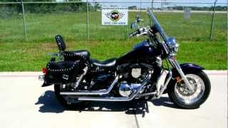 4. 1999 Kawasaki Vulcan 1500 Classic Loaded with great accessories! Custom Paint by Damons!