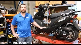 10. How to Change the Oil on a 49cc Scooter - Chinese QMB139 Engine - By Bintelli Scooters