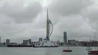 Gosport United Kingdom  city photos : Wightlink Ferry manouvering in Gosport Portsmouth Harbour Hampshire England UK