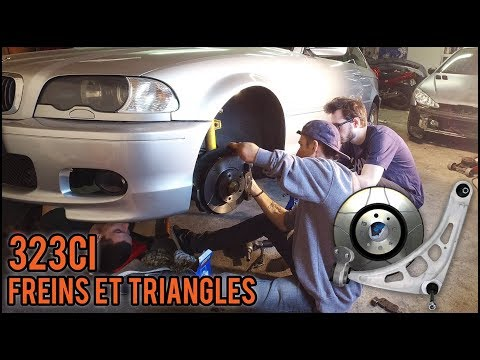 [323ci E46] EP2 - Freins et triangles