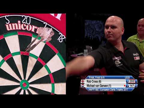 Rob Cross V Michael Van Gerwen - FINAL - HappyBet European Darts Trophy 2017