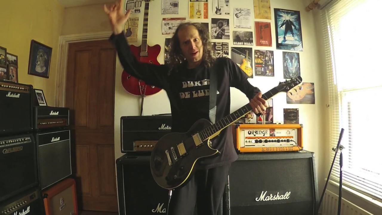 SubZero Revolution Electric Guitar, Flamed Black
