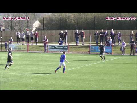 Kelty Hearts v Hill Of Beath - The Conservatory Converters Fife & Lothians Cup 3rd round 8/4/17