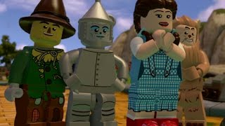 LEGO Dimensions Walkthrough Part 2 - LEGO The Wizard of Oz