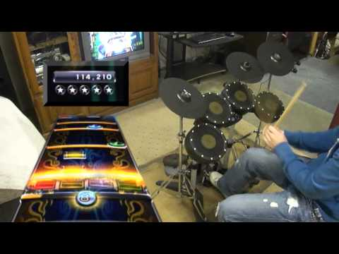 The Metal - Tenacious D 100% FC Pro Drums Expert (HD Test)