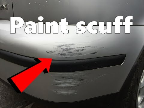 Repair bumper scratch video watch hd videos online without registration diy how to remove paint scuffs on your car solutioingenieria Image collections