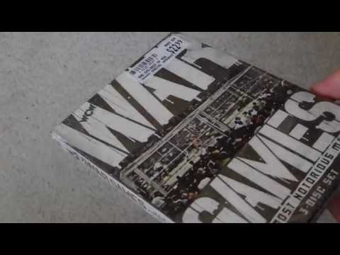 WCW WAR GAMES MOST NOTORIOUS MATCHES 3 Disc Set Dvd Unboxing Unwrapping Wwe