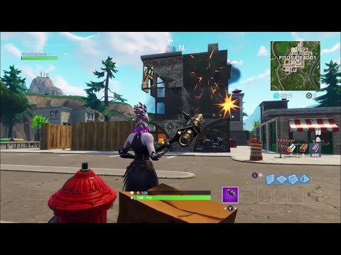Como Destruir Pisos Picados En 2 Sengundo Bug Fortnite Battle Royale