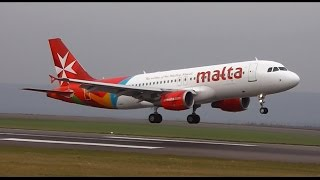 Watch in 1080p!* Today's video is from Bristol Airport where I caught this Maltese beauty arriving & departing mid-morning from/to...