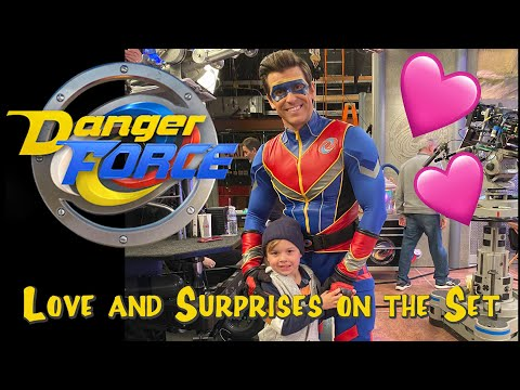❤️DANGER FORCE: love and surprises on the set of the HENRY DANGER Spinoff 😍😘
