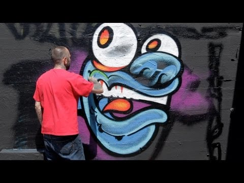 How to Draw a Monster | Graffiti Art