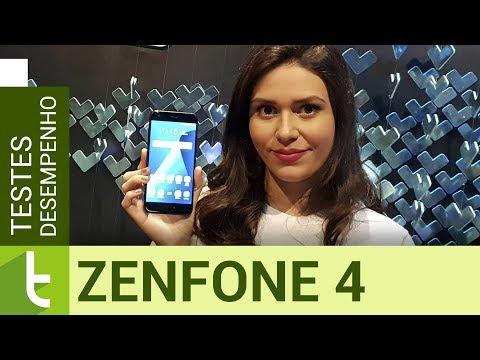 Desempenho do Asus Zenfone 4  Teste de velocidade oficial do TudoCelular