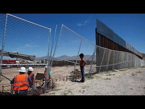 Ακυρώνει, λόγω τείχους, το ταξίδι του στην Ουάσιγκτον ο πρόεδρος του Μεξικού