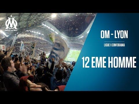 OM - Lyon Le match vu des tribunes   12 EME HOMME (видео)