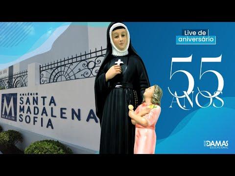 Live de Aniversário - 55 anos do Colégio Santa Madalena Sofia