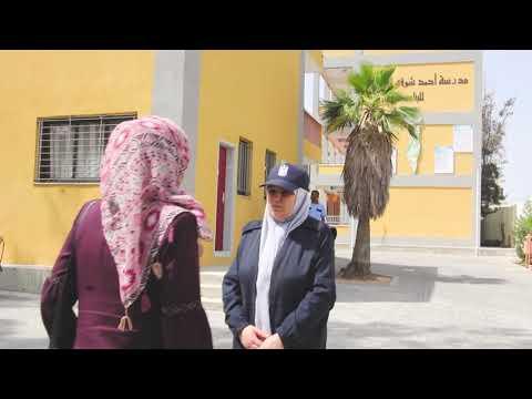 دور الشرطة الفلسطينية في تأمين امتحانات الثانوية العامة 2019 م