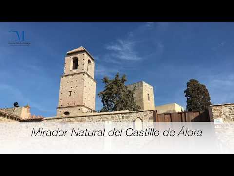 Mirador urbano Castillo de Álora