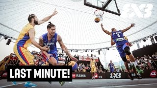 First Rule when you're up against the Philippines 3x3 team? Do not leave Karl Dehesa open! Romania had to learn that the hard way at the 2016 FIBA 3x3 ...