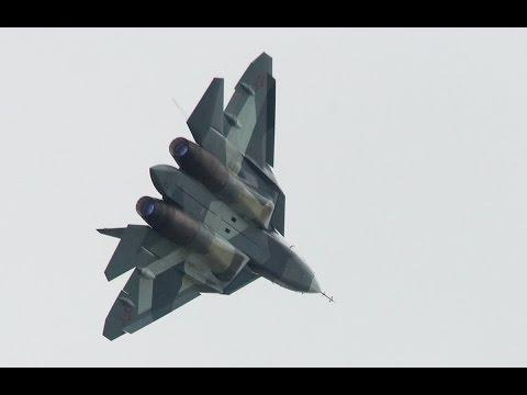 Т-50. Самолет-невидимка. Военная приемка (видео)