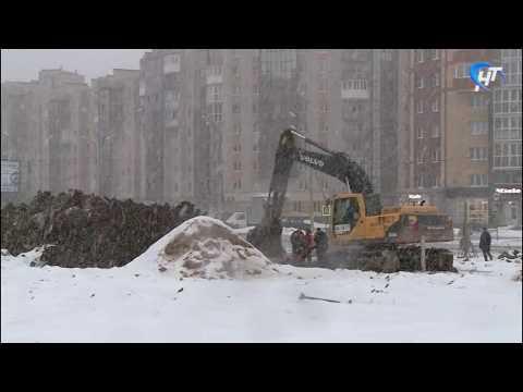 Возведение ФОКа на улице Псковская вышло на финишную прямую