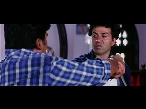 Video Sunny Deol Powerful Action Scene from Ziddi download in MP3, 3GP, MP4, WEBM, AVI, FLV January 2017