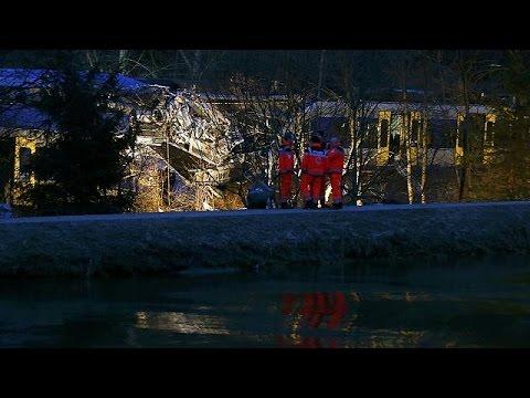 Γερμανία: «Ανθρώπινο λάθος» πιθανότερη αιτία της σιδηροδρομικής τραγωδίας