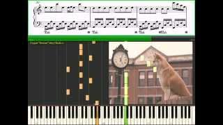 "Goodbye - OST ""Хатико (Hachiko): Самый верный друг"" (Ноты, Видеоурок)(piano tutorial)"