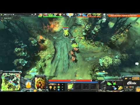 The Alliance vs Team VirtusPro Game 1  DOTA 2 Champions League   TobiWan & Maelk