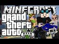 Minecraft | Grand Theft Auto (GTA) | QUAD BIKES, PRANKS & HOBOS | Mods Showcase [Funny Moments]