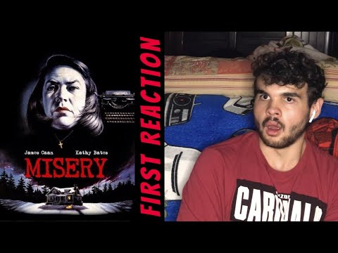 Watching Misery (1990) FOR THE FIRST TIME!! MOVIE REACTION!!