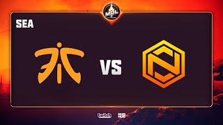 Fnatic vs Neon Esports, MDL Disneyland® Paris Major SEA QL, bo3, game 2 [Lost]